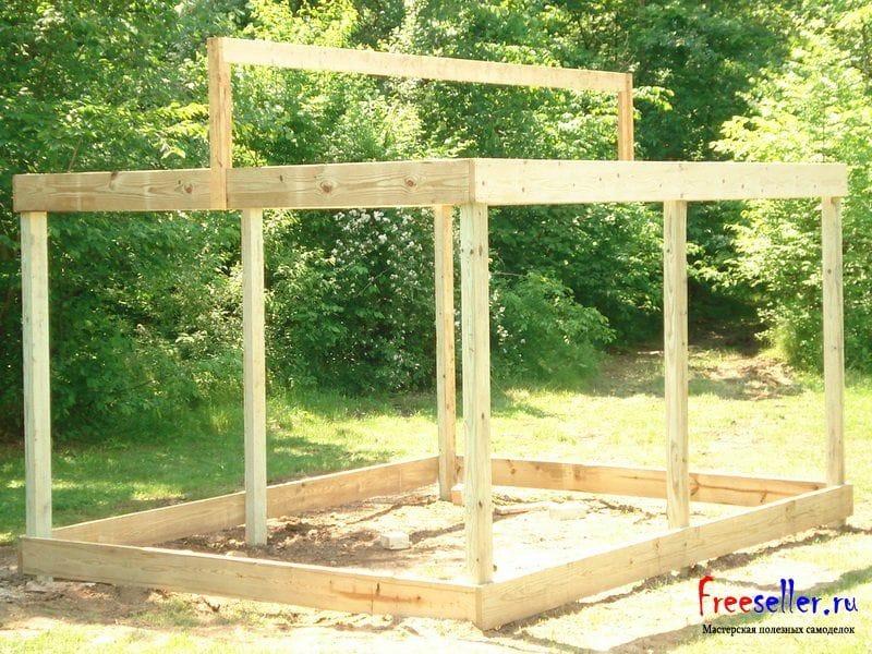 Дачный домик и постройки своими руками 405