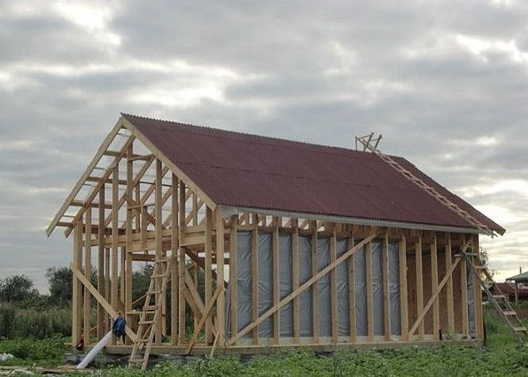 "build a house,How to build a house,build a house in 2 weeks,with your own hands,Extreme construction, DIY ""Extreme construction"" or How to build a house in 2 weeks with your own hands, Incredible Tiny House"