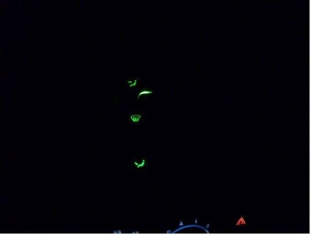 Как сделать подсветку шкалы расположения заслонки печки на ВАЗ 2110
