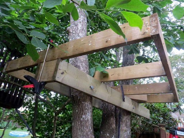 Сделать своими руками детям на дереве