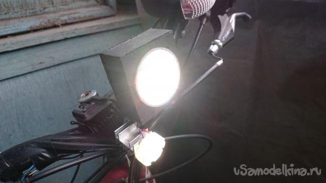 Хороший велосвет из светодиодов