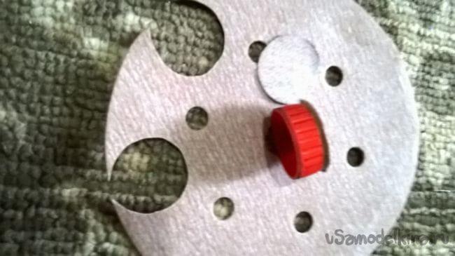 Ручная мини шлифовально-полировальная машинка
