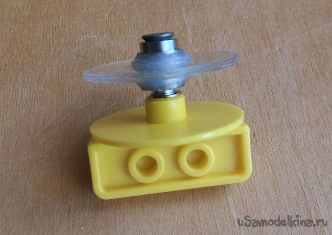 Модернизация колеса для хомячка