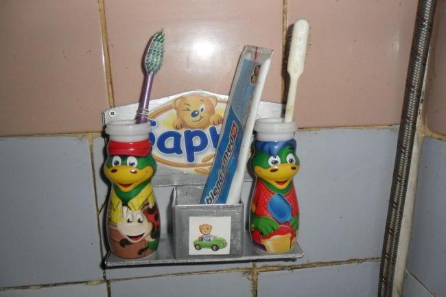 Полка для зубных щеток
