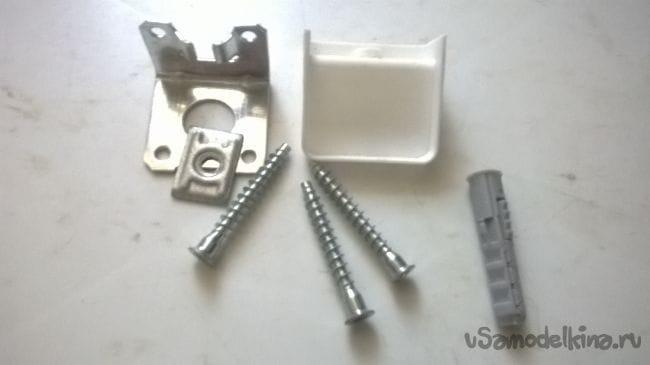 Навесной шкафчик-полка для микроволновой печки