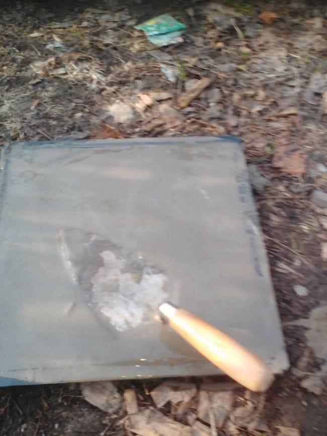 Изготовление тротуарной плитки без вибростола