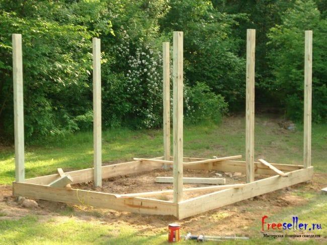 Строительство дачного домика своими руками