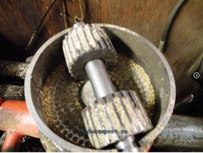 Как сделать станок для пеллет