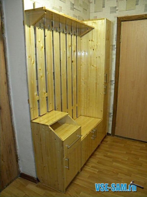 Шкаф в прихожей своими руками