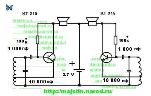 Схема простого металлоискателя своими руками - подсвечники с.
