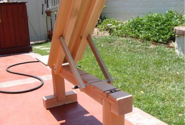 Гимнастическая скамейка своими руками