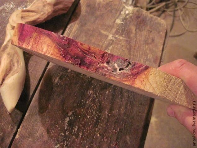 ручка для двери из дерева