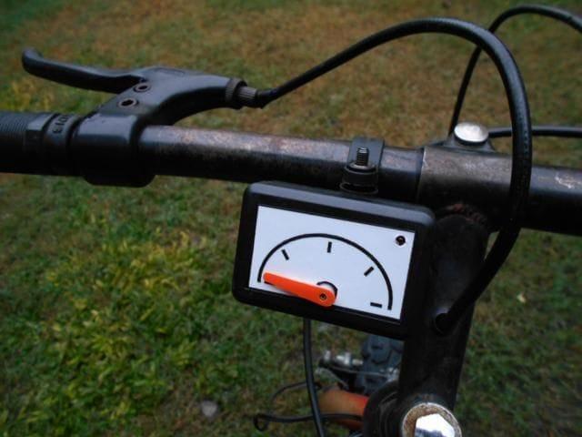 Как сделать спидометр для велосипеда фото 986