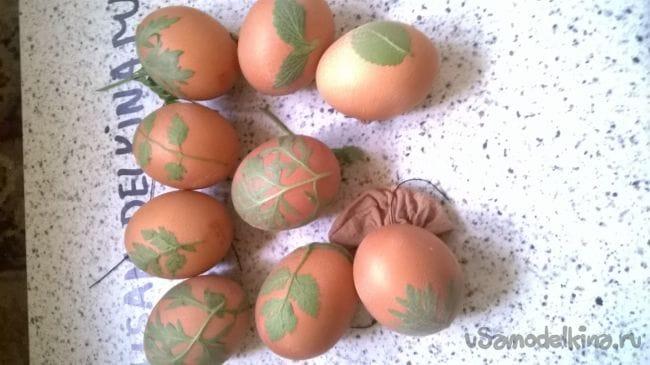Крашенка. Этому способу покраски яиц уже более 40 лет
