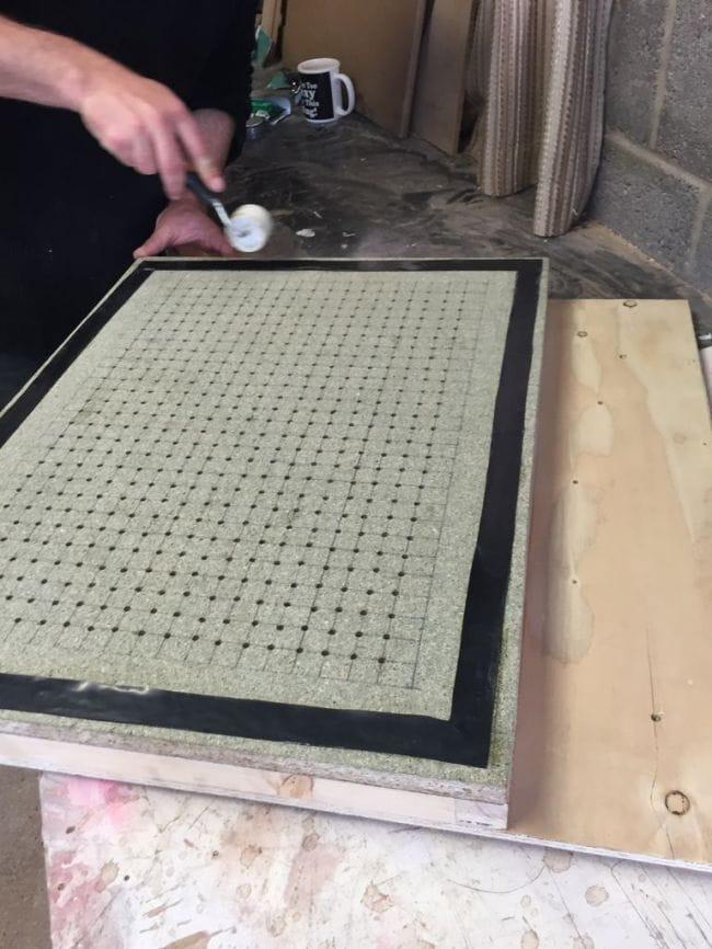 Самодельная настольная вакуумная печь для работ с пластиком