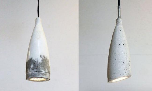 Лампа в стиле лофт своими руками