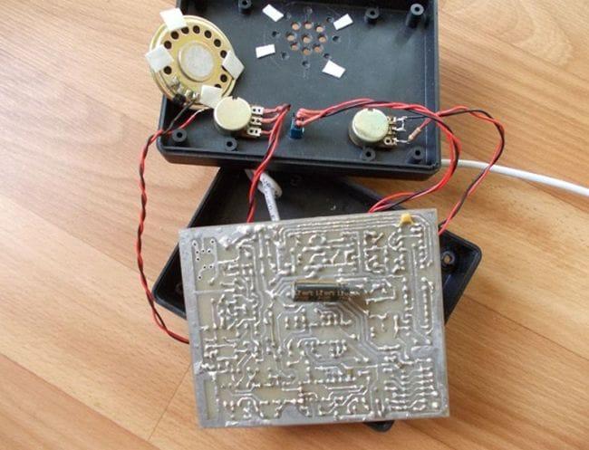 Один из простых металлоискателей с дискриминатором «Megatron»