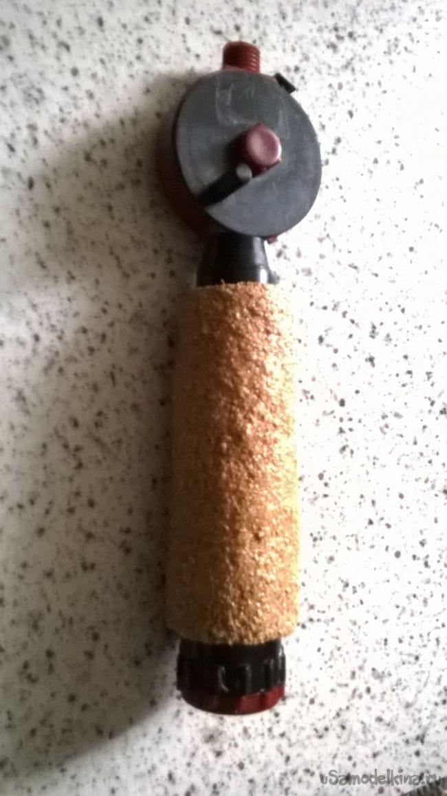 Утепленная ручка для зимней удочки