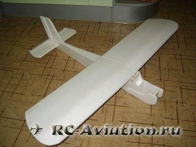 Верхоплан Cessna 150 своими руками