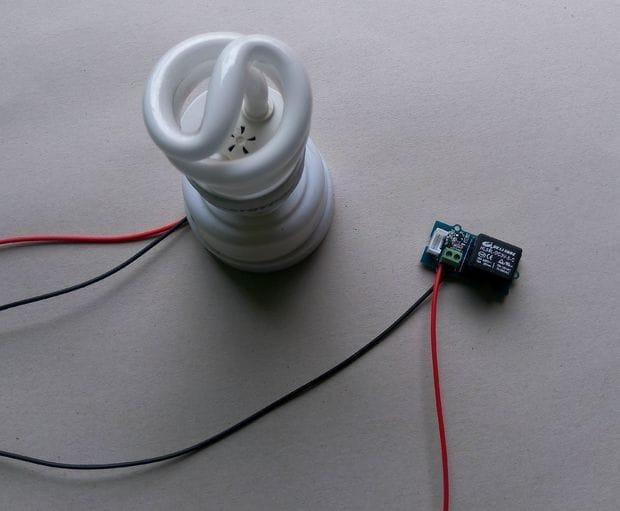 Устройство для отключения лампы дыханием