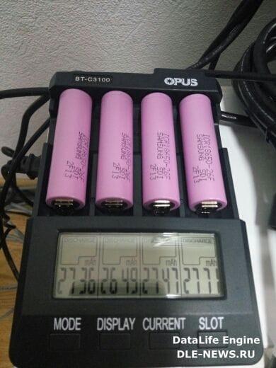 Li-ion аккумуляторы типоразмера 18650