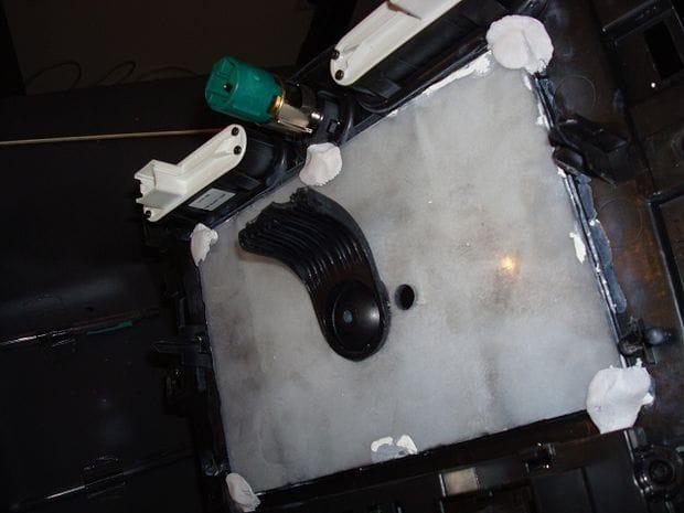 Установка планшета на место штатной аудио системы