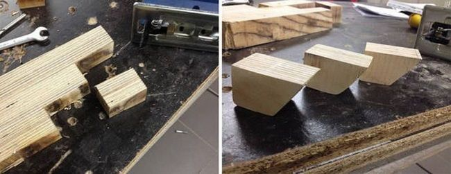 Системный блок из дерева