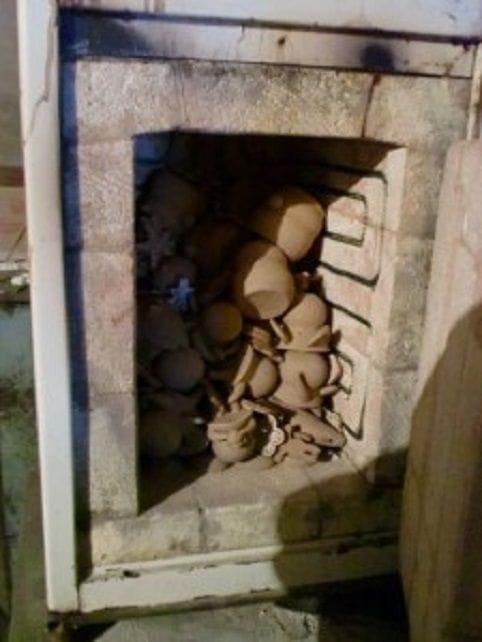Камерная печь для обжига керамики