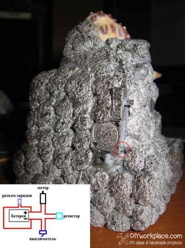 Самодельный мини-фонтан
