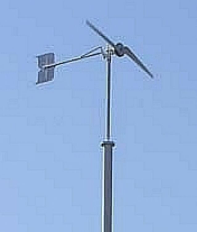 Мини ветрогенератор, уменьшенная модель для опыта