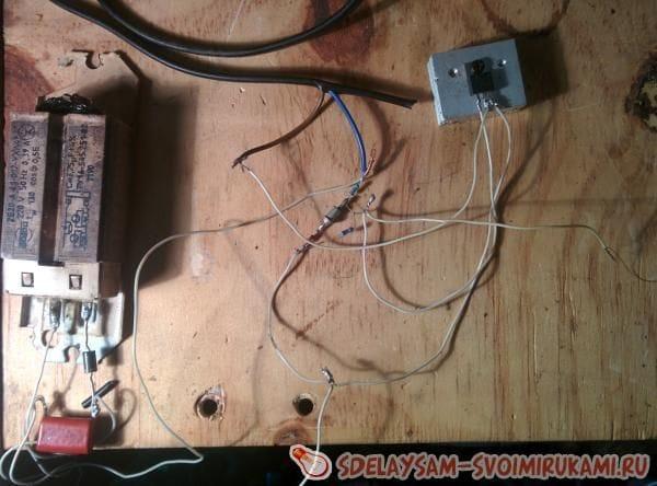Качер Бровина от сети 220 вольт