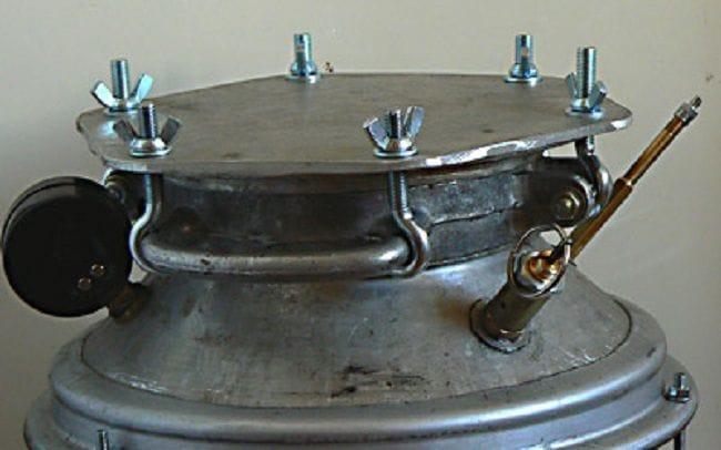 Автоклав для домашнего консервирования сделать из фляги
