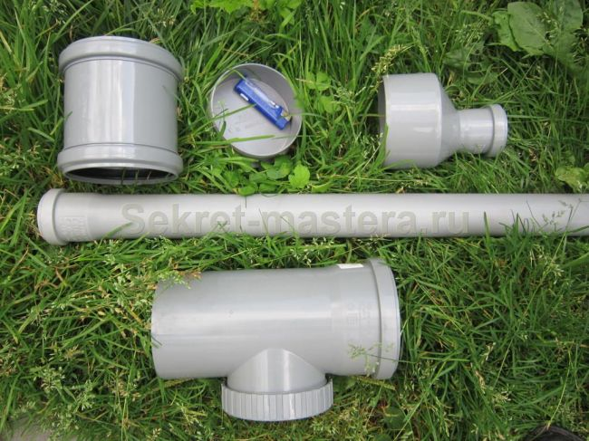 Строим газовую пушку из сантехники