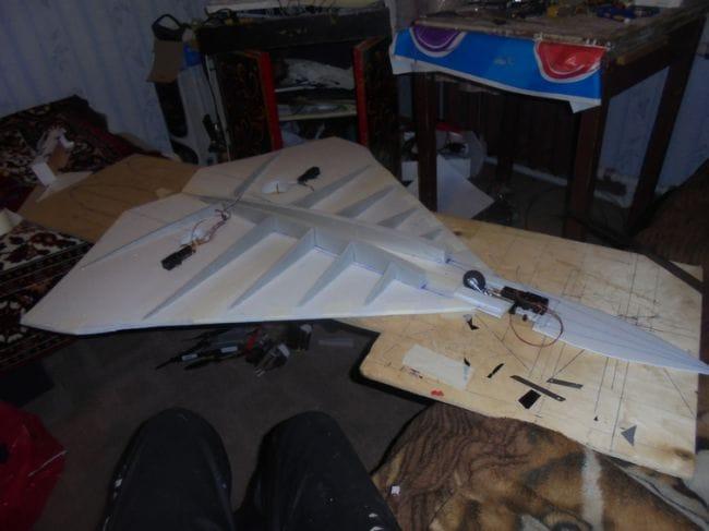 Авиамодель «Гиперстинг» своими руками