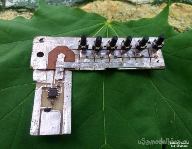 Музыкальныя пищалка на NE555