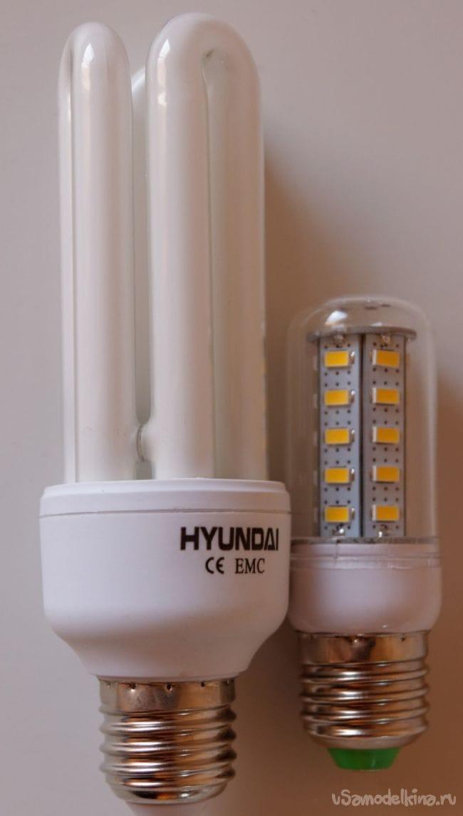 Светодиодные лампы E27 220 В