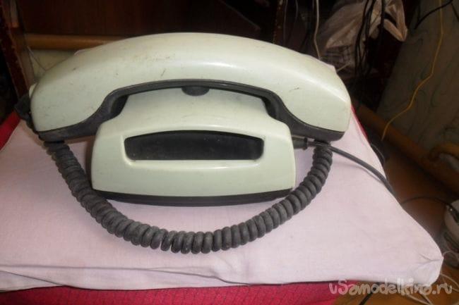 Тачка Молния для внука из телефонного аппарата