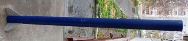 Самодельная ракета с системой спасения