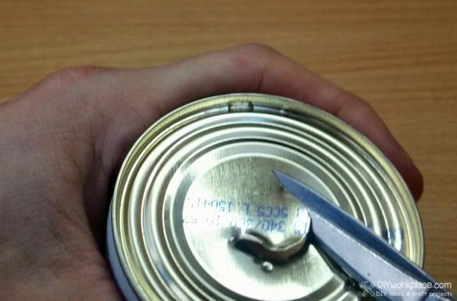 Безопасная спиртовая горелка из алюминиевой банки