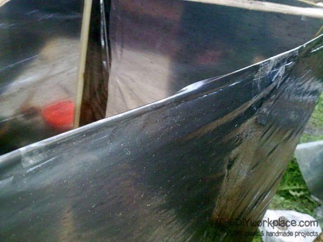 Самодельный воздушный змей коробчатого типа