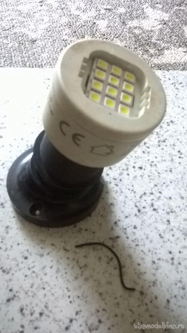 Подсветка на 12В
