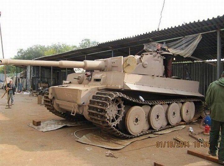 Танк «Тигр» в натуральную величину