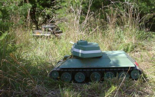 Радиоуправляемый танк Т-34-85 своими руками