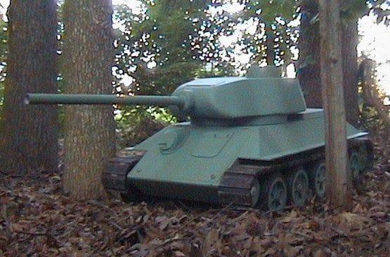 Так т-34 модель своими руками