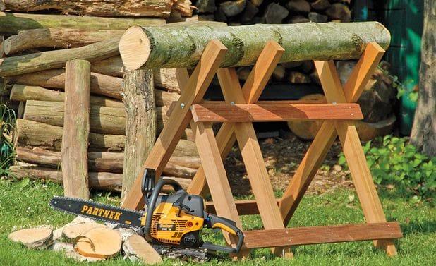 Козел для пилки дров своими руками фото