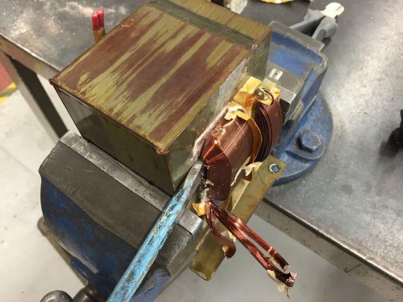 Контактная сварка трансформатор своими руками