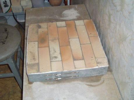 Электро-печь для обжига глиняных изделий своими руками
