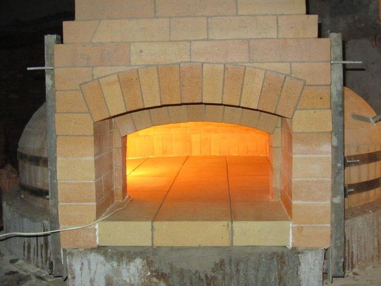 Как сложить помпейскую печь
