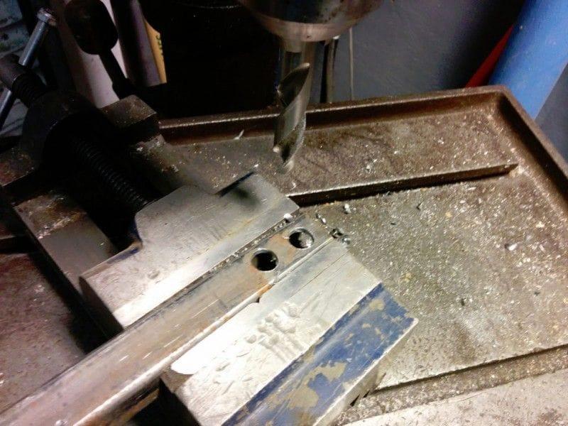 Станок для загиба арматуры из подручных материалов