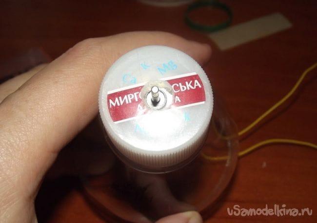 Аппарат для сахарной ваты из пластиковой бутылки
